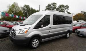 2015 Ford Transit 15 Passenger Wagon Ecoboost with Navigation