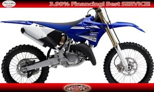 2017 YAMAHA YZ 125 OFF ROAD COMPETITION MOTORCYCLE! For you!