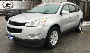 2011 Chevrolet Traverse LT | ONE OWNER WITH 3RD ROW SEATING