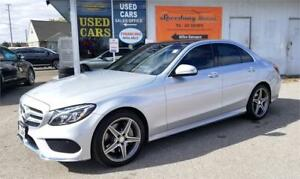 2015 Mercedes-Benz C-Class C 300 4Matic - AMG Pkg, Fully Loaded