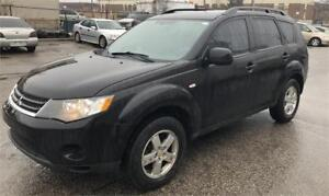 2007 Mitsubishi Outlander LS, leather, certified