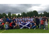 Glasgow Sharks Australian Rules Football Recruitment