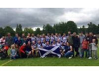 Glasgow Sharks Australian Rules Football Recruitment