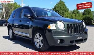 EVERYONE IS APPROVED! APPLY TODAY! 2010 Jeep Compass Sport