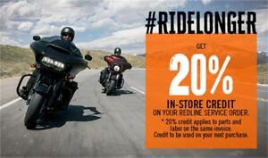 Harley-Davidson Winter Work Promo