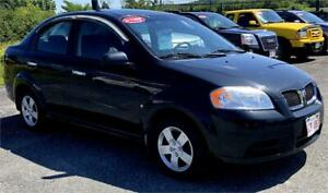 2010 Pontiac G3 - 5 Speed  ONLY $2090.00 On the Road!!!