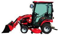 NEW Mahindra eMax 20S HST Cab North Bay Ontario Preview