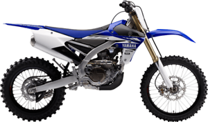 2017 YAMAHA YZ450FX DIRT BIKE, ELECT START, 0 PAYMENTS FOR 6 MO
