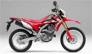 HONDA CRF 250 L SEMI ROUTE SEMI TRAIL