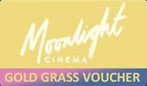 MOONLIGHT CINEMA - GOLD GRASS Admit   MOVIE VOUCHER/Cinema Ticket South Melbourne Port Phillip Preview