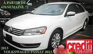 2013 Volkswagen Passat,À PARTIR DE 42$/SEMAINE 100% approuvé !!!