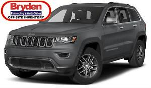 2017 Jeep Grand Cherokee Ltd / 3.6L V6 / Auto / 4x4 **Mint**