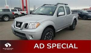 2017 Nissan Frontier CREW CAB PRO-4X Bluetooth, Back-up Cam,