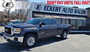 2015 GMC Sierra 1500 DOUBLE CAB 4X4 WITH REVERSE CAMERA