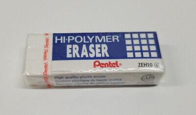Pentel Hi-polymer Office Large Block Eraser -1 Eraser White