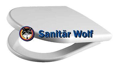 * WOW *  WC Sitz Subline Scharnier Edelstahl passend f. Laufen pro