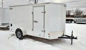 2019 Haulmark  6X12 Enclosed with Side and Rear Ramp