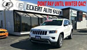 2014 Jeep Grand Cherokee Limited 4X4 WITH LEATHER/SUNROOF