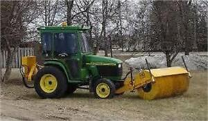 NEW MB HT 8' tractor front mount sweeper broom