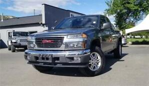 2011 GMC CANYON EXT CAB 4X4 ONLY 102,344 KILOS HARD TO FIND!!
