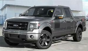 2013 Ford F-150 FX4 4x4 ~ Leather~Max Tow~Moonroof $239 B/W