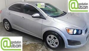 2012 Chevrolet Sonic LT, À PARTIR DE 26$/SEM. 100% APPROUVÉ !!!