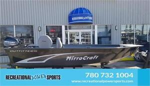 NEW FOR 2017 MIRROCRAFT Outfitter 145T FISHING BOATS FOR SALE