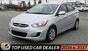 All Credit Financing Approved - $0 Down - 2016 Accent - Silver
