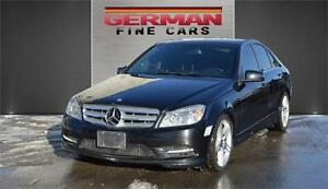 2011 Mercedes Benz C350 | 4 Matic AMG PKG***only 111,000km | Nav