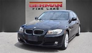 2011 BMW 323I SEDAN ONLY***119,000KM  BLACK ON BLACK  ALLOY RIMS