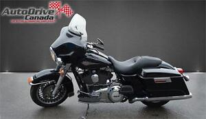 """MOTORCYCLE,2012 HARLEY DAVIDSON ELECTRA GLIDE CLASSIC 103 CUBE """""""