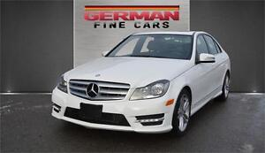 2013 Mercedes Benz C300 | 4 Matic AMG PKG***only 68,000km