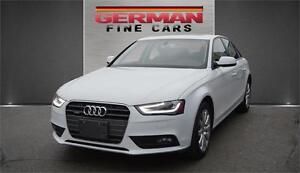 2013 A4 2.0T Quattro AWD***only 89,000km | AWD | Sun Roof | Leat