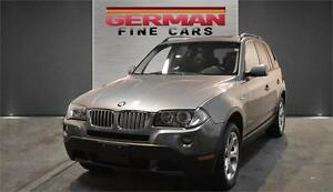 2009 BMW X3 AWD | DAKOTA LEATHER | PANORAMIC SUNROOF|114,000KM
