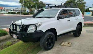 2013 Toyota Landcruiser Prado KDJ150R 11 Upgrade GX (4x4) White 6 Speed Manual Wagon Bungalow Cairns City Preview