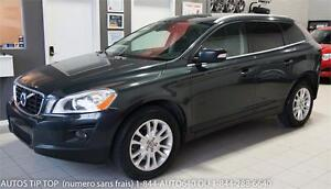 2010 VOLVO XC60 T6 AWD 119000 KMS-CUIR-TOIT PANO- 3 ANS 60000KM