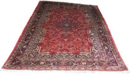 Handmade Hand Knotted Mehraban Tabriz Genuine Persian Rug Wool Hornsby Hornsby Area Preview