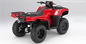 2017 Honda TRX 500 FE - electric shift $7899.00 save $2000.00