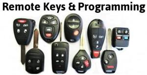 Automotive Replacement Car Truck Keys Remotes Fobs Cut/Program