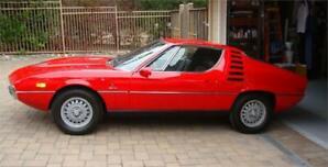 1971 Alfa Romeo Montreal Red