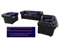 Chesterfield 3 + 2 Sofas