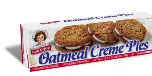 oatmeal creme pies one box 12 pack