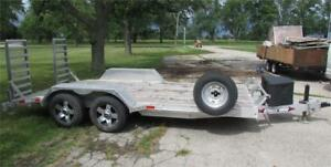 "16'x80"" Equipment/Utility Trailer Weber Lane,Financing Available"
