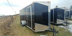2018 NEW 6x14 V-NOSE RAMP DOOR ENCLOSED TRAILERS