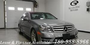 2013 Mercedes Benz C300 4matic, sport package, sunroof