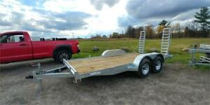NEW FLATBED 16FT 5200LBS AXLE GALVANIZED 10000LBS