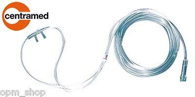 Schlauch Für Erwachsene (Sauerstoffbrille Centramed, Nasenbrille mit 2,1 m Schlauch für Erwachsene)