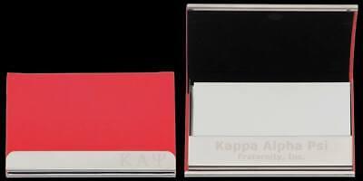 Kappa Alpha Psi Fraternity Business Card Holder-New!