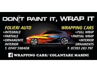 wrapping cars