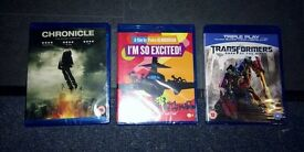 Transformers, I'm So Excited, Chronicle Brand New Blu-Ray Dvds, In Packaging